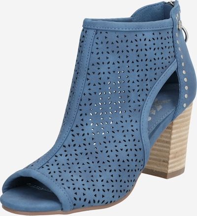 Xti Stiefelette in blau / braun, Produktansicht