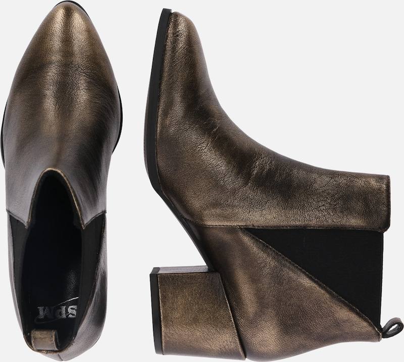 Spm 'nelsea' Chelsea Bronze Boots En 35RqAj4L