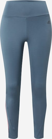 ADIDAS PERFORMANCE Pantalon de sport en bleu / rose, Vue avec produit