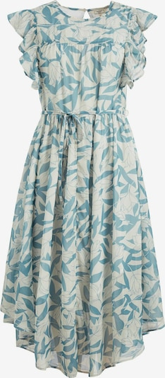 khujo Kleid ' ANISA ' in blau / hellblau / mint, Produktansicht
