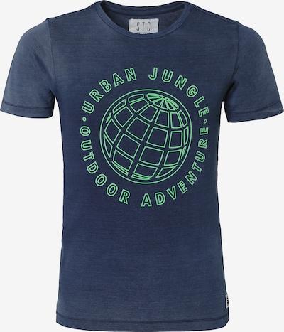 STACCATO T-Shirt in navy / grün, Produktansicht