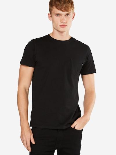 JACK & JONES Shirt in schwarz: Frontalansicht