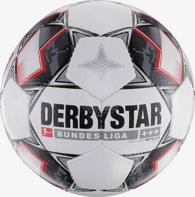 DERBYSTAR Fußball 'Brilliant Bundesliga 18/19 Replica Light' in rot / schwarz / weiß, Produktansicht
