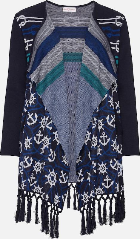 SheeGOTit Cardigan in blau   marine   weiß  Mode neue Kleidung