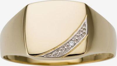 FIRETTI Goldring in gold / silber, Produktansicht