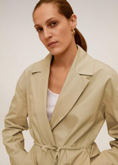 MANGO Trenchcoat in beige, Modelansicht