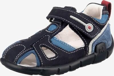 ELEFANTEN Sandale 'Faro' in rauchblau / nachtblau / pastellrot / weiß, Produktansicht