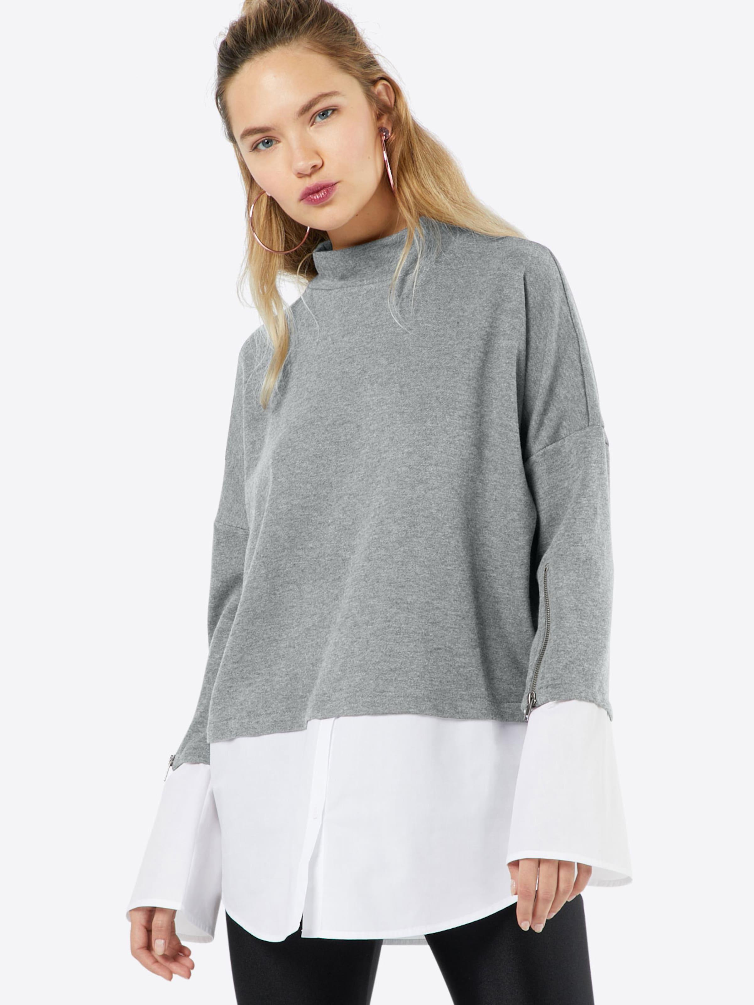 Noisy may Sweatshirt im Layering-Look 'Saga' 2018 Auslaß Freies Verschiffen Ebay cdAeuO