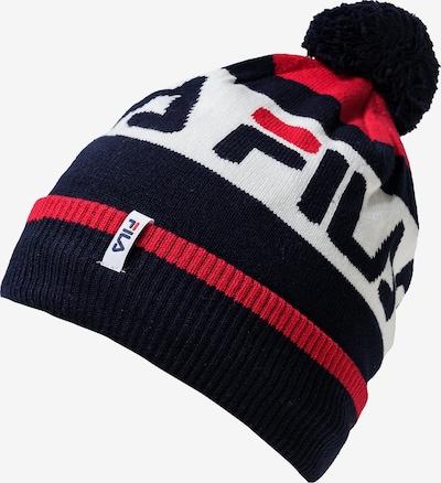 FILA Mütze in rot / schwarz / weiß, Produktansicht