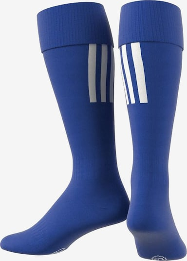 ADIDAS PERFORMANCE Sockenstutzen 'Santos 18' in blau / weiß, Produktansicht