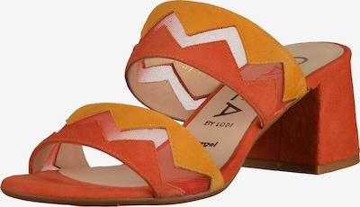 GADEA Pantoletten in orange / orangerot, Produktansicht