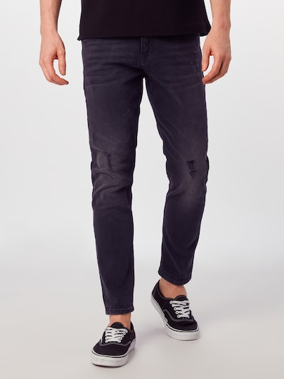 TOM TAILOR DENIM Jeans 'CONROY' in black denim, Modelansicht