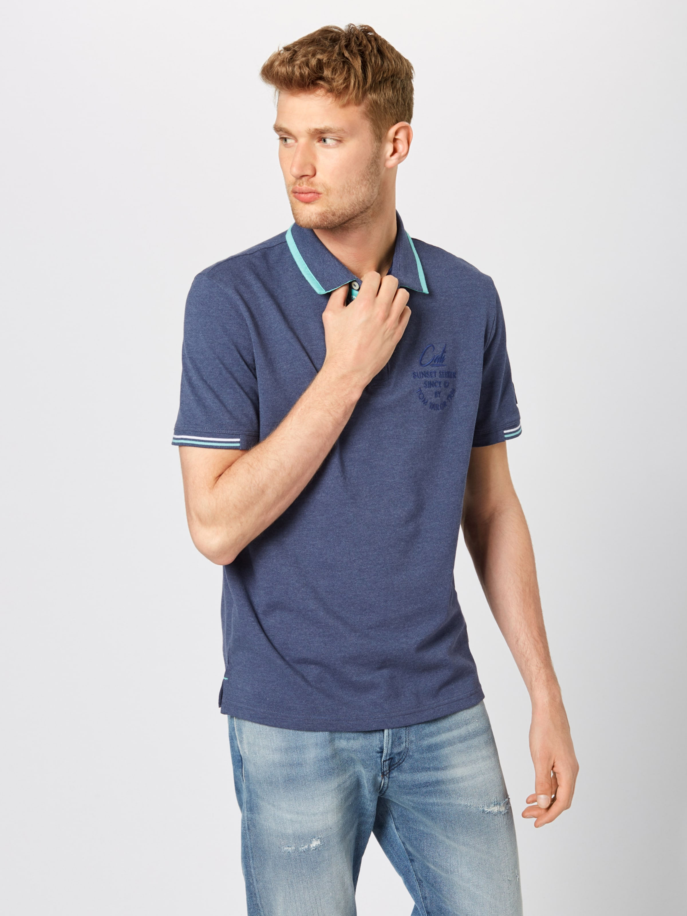In Poloshirt Tailor Tom Tom Poloshirt Dunkelblau Tailor Dunkelblau In Tailor Tom rhCxtQsd