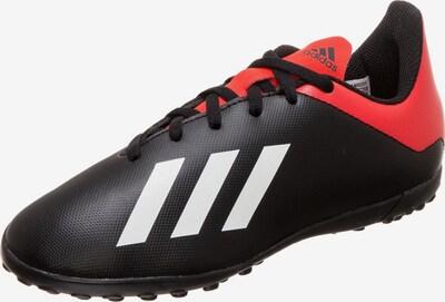 ADIDAS PERFORMANCE Fußballschuh 'X 18.4 Tf' in rot / schwarz / weiß, Produktansicht