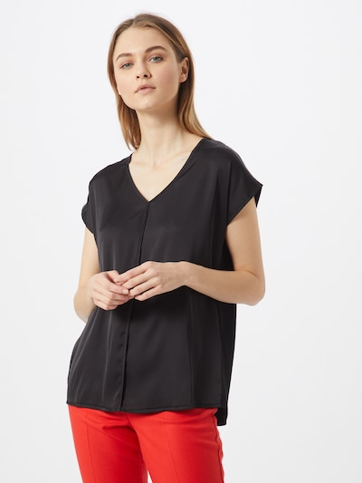 MORE & MORE Blusenshirt in schwarz, Modelansicht