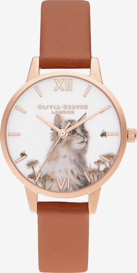 Olivia Burton Uhr in braun / gold, Produktansicht