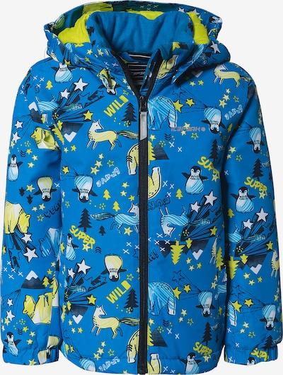 ICEPEAK Skijacke 'Japen' in blau / hellblau / gelb / schwarz, Produktansicht