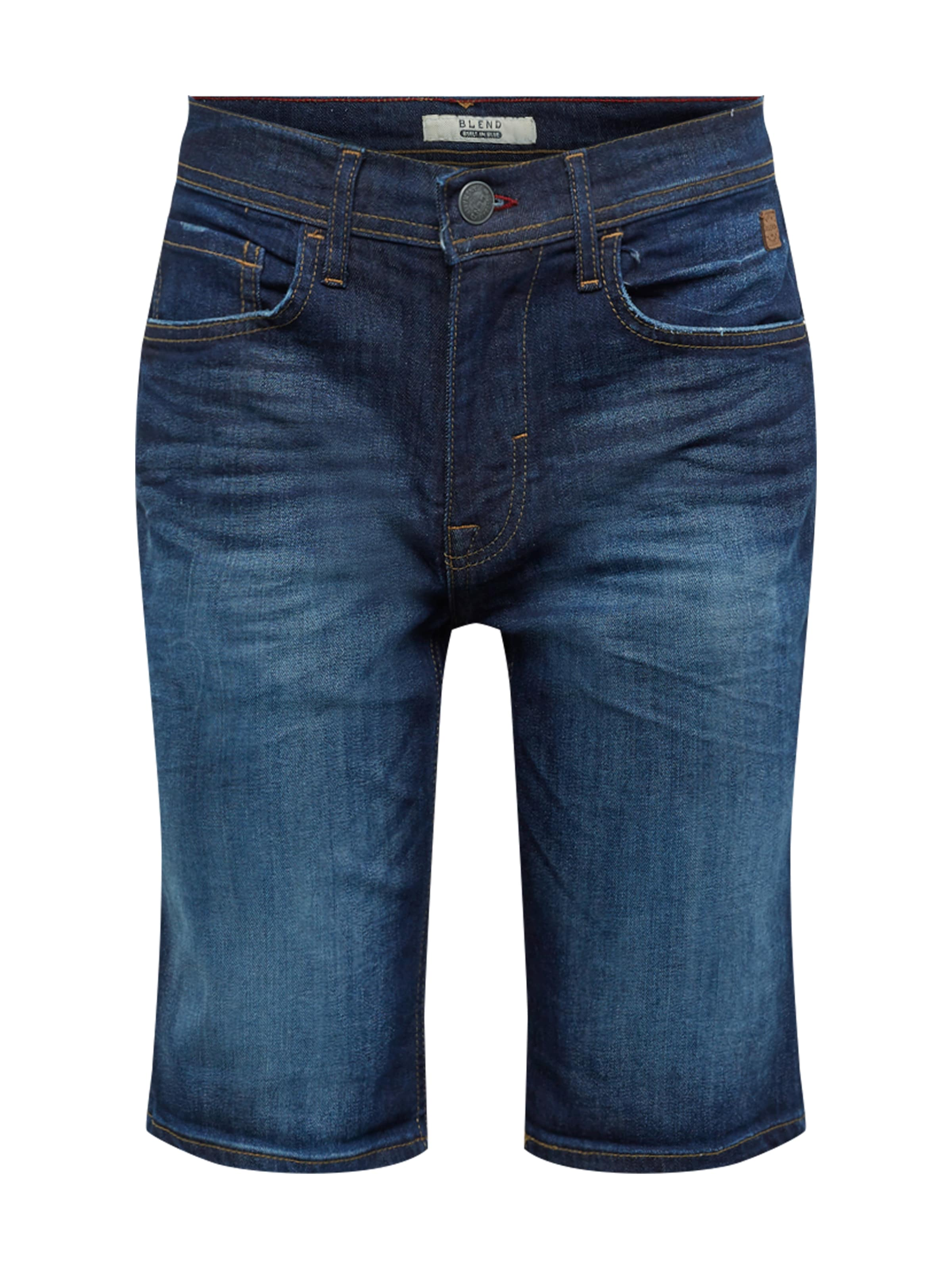 Blend 'denim Slim' Foncé En Jean Shorts Bleu Twister bygmY6vIf7