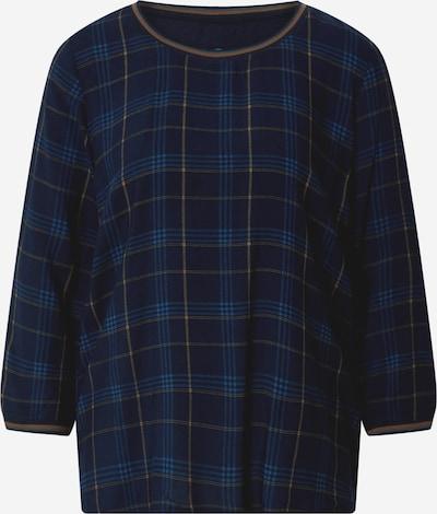 TOM TAILOR Shirt in marine / dunkelgelb, Produktansicht