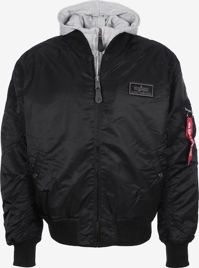 ALPHA INDUSTRIES Zimska jakna 'MA-1 D-Tec' u crna, Pregled proizvoda