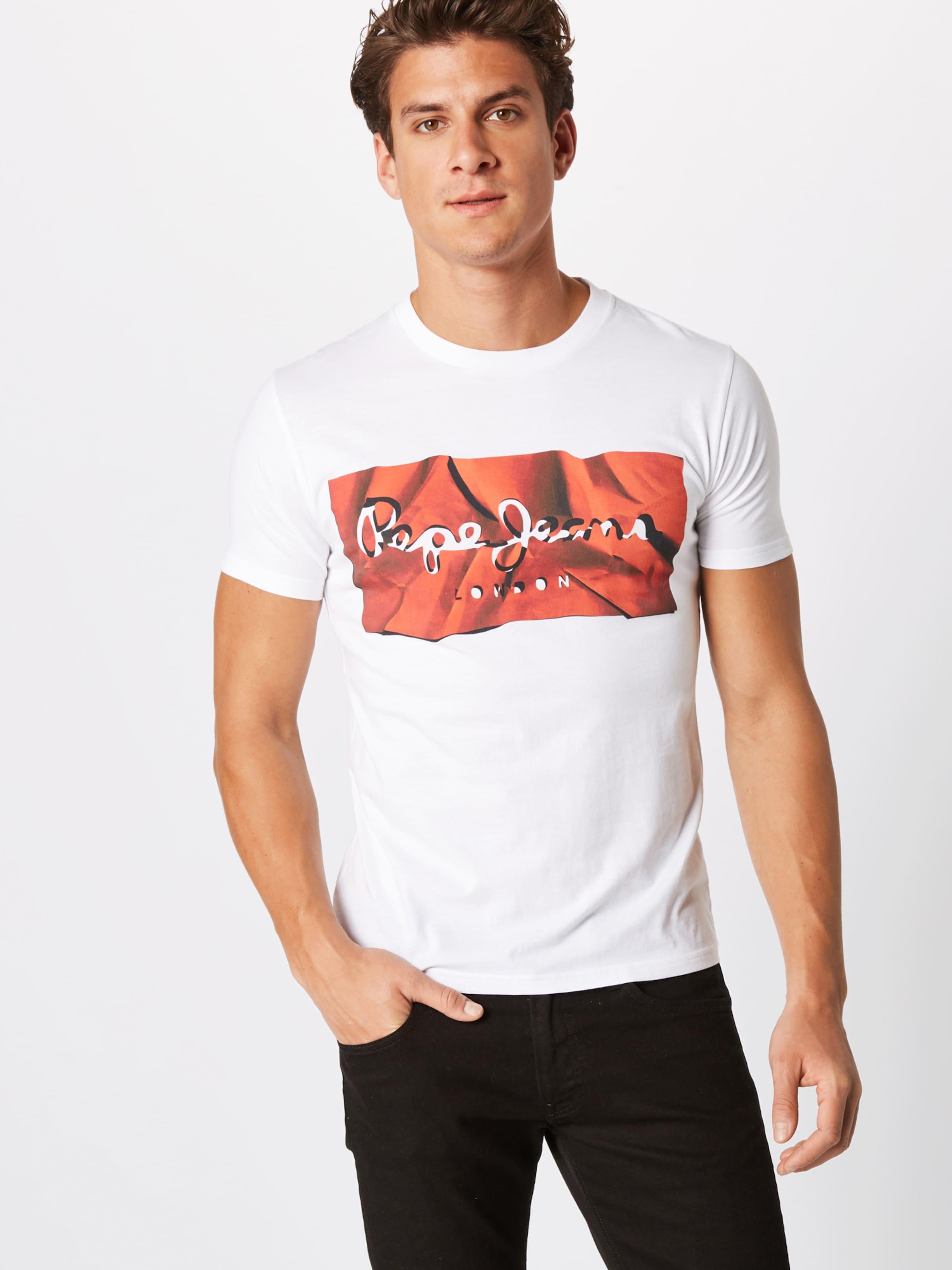 RougeBlanc shirt T En Pepe 'raury' Jeans T31clKJuF
