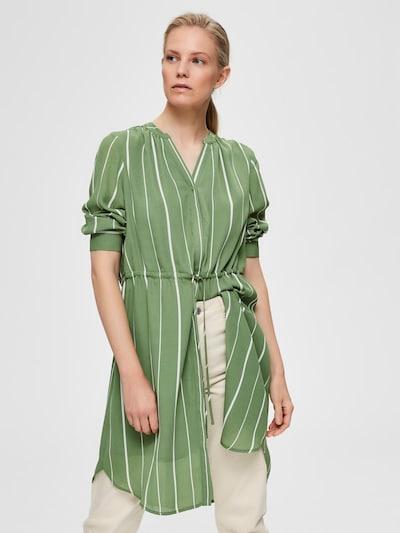 SELECTED FEMME Kleid 'DAMINA' in grün, Modelansicht