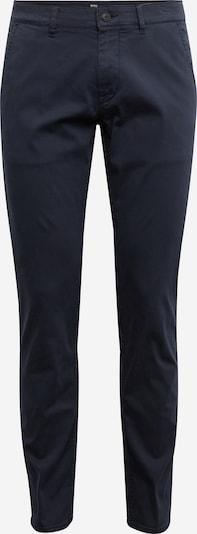 BOSS Pantalon chino en noir, Vue avec produit