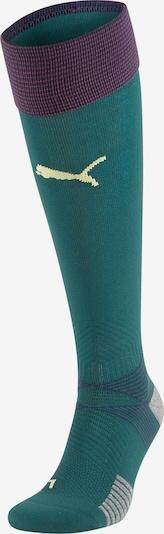 PUMA Sockenstutzen 'FIGC Italien' in blau / dunkelgrün / helllila, Produktansicht