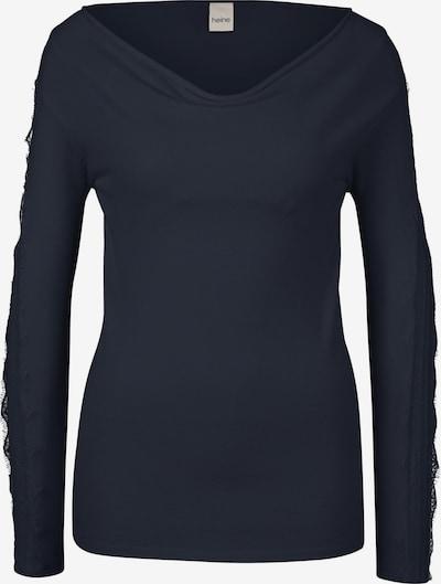 heine Pullover in nachtblau, Produktansicht