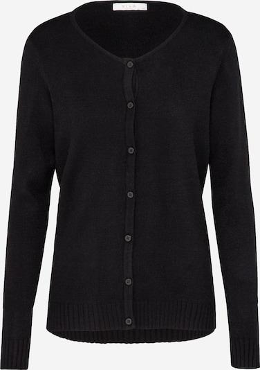 VILA Gebreid vest 'Viril' in de kleur Zwart, Productweergave