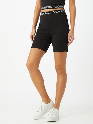 Calvin Klein Jeans Shorts 'MILANO' in Schwarz