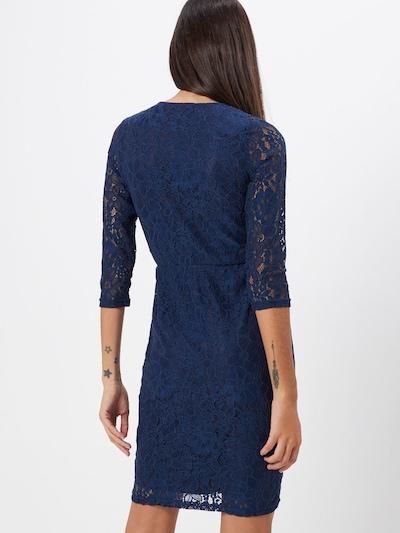 Suknelė 'WRAP LACE BODYCON' iš Dorothy Perkins , spalva - tamsiai mėlyna: Vaizdas iš galinės pusės