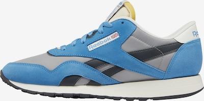 Reebok Classics Sneaker 'Classic Nylon' in hellblau / grau / schwarz, Produktansicht
