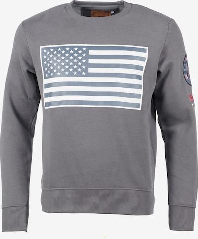 TOP GUN Sweater  ' TG-9018 ' in dunkelgrau, Produktansicht