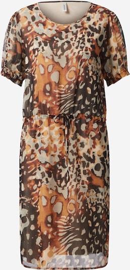 Soyaconcept Kleid 'Karita 3' in beige / cognac / dunkelbraun, Produktansicht