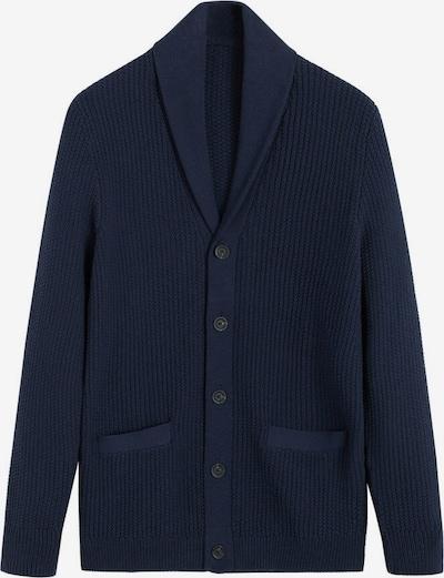 MANGO MAN Vestes en maille 'Binger' en bleu roi, Vue avec produit