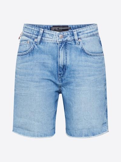 DRYKORN Shorts 'LAP' in blue denim: Frontalansicht