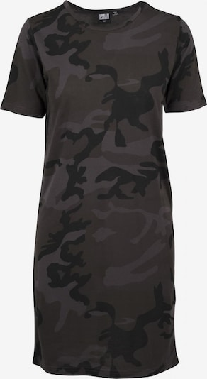 Urban Classics Tee-Dress in khaki / schwarz, Produktansicht