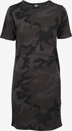 Urban Classics Kleid in khaki / schwarz, Produktansicht