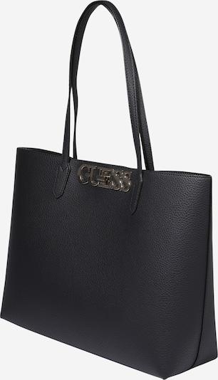 GUESS Tasche 'Uptown Chic' in schwarz: Seitenansicht