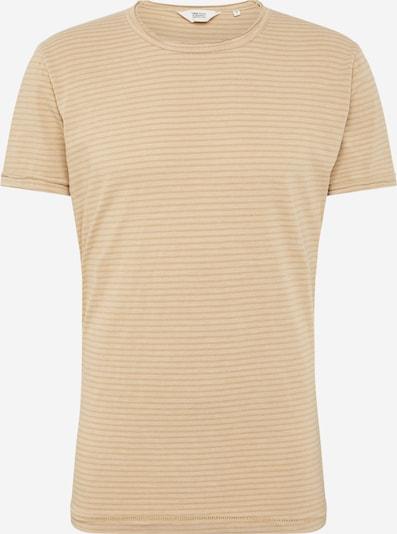 !Solid Shirt 'Fablin SS Stripe' in beige, Produktansicht