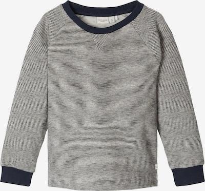 NAME IT Sweatshirt in kobaltblau / hellgrau, Produktansicht
