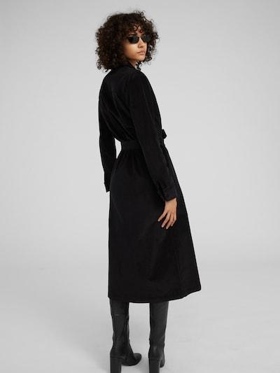 Palaidinės tipo suknelė 'Joy' iš EDITED , spalva - juoda: Vaizdas iš galinės pusės