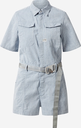 G-Star RAW Jumpsuit in blue denim, Produktansicht