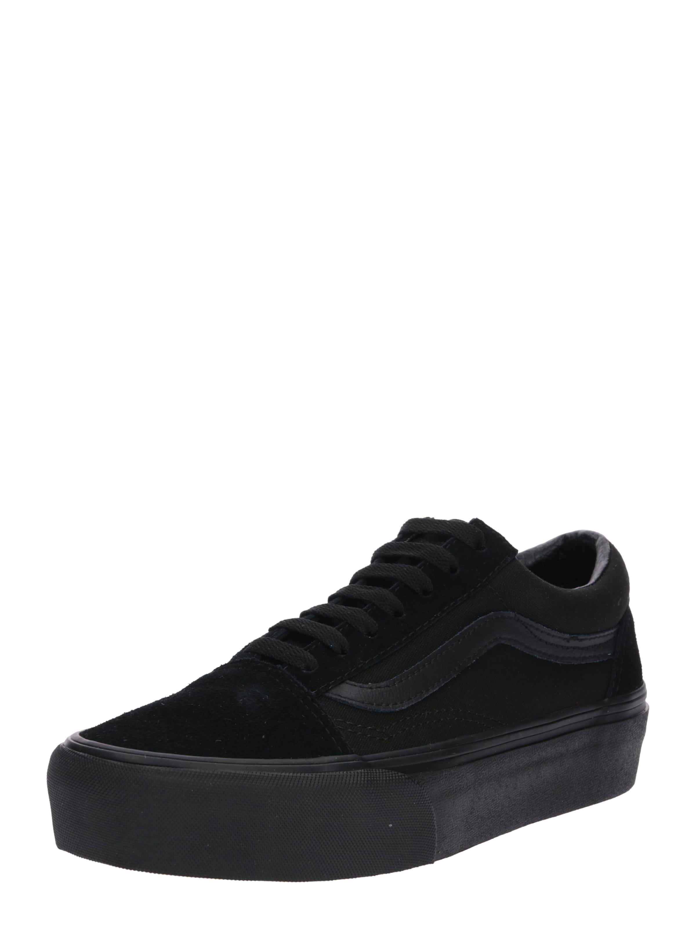 'old Platform' Sneaker Vans Skool Schwarz In YfvbgI76y