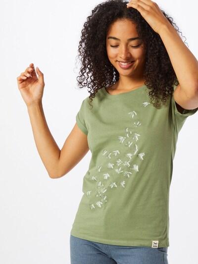 Iriedaily Särk 'Swarmy' oliiv / valge: Eestvaade