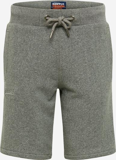 Superdry Pantalon en gris, Vue avec produit