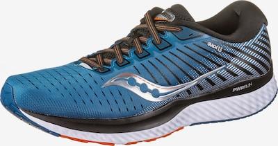 saucony Chaussure de course 'Guide 13' en bleu, Vue avec produit