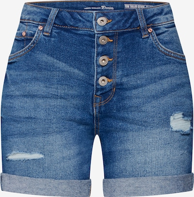 TOM TAILOR DENIM Jeansshorts 'Cajsa' in blau / blue denim, Produktansicht