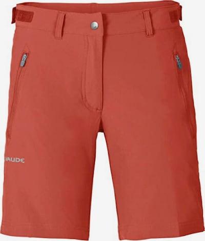 VAUDE Shorts 'Farley Stretch' in dunkelorange, Produktansicht